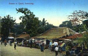 Pasar Tjandi Semarang tahun 1910